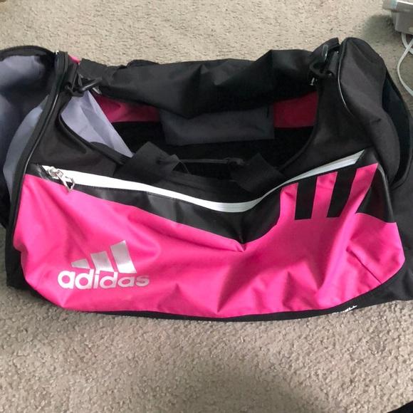 87d153fb0b adidas Handbags - Pink Adidas large duffel bag